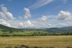 Landscape seen between Geneva and Annecy